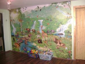 3D tapeta na celou stěnu