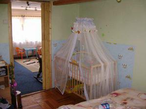 A konečně taky ložnice a peíšek pro nového člena rodiny:o))