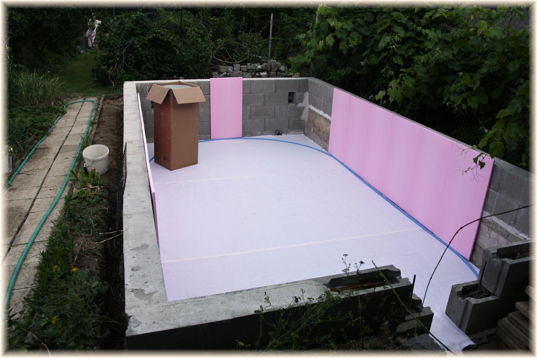 Vlastníma rukama - ze skleníku bazén - Obrázek č. 23