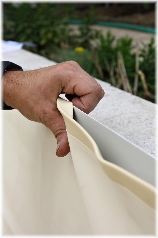 Vlastníma rukama - ze skleníku bazén - nasadit folii je velmi snadné