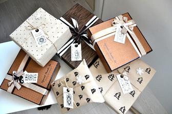 i dárky musely ladit :-) do obýváku