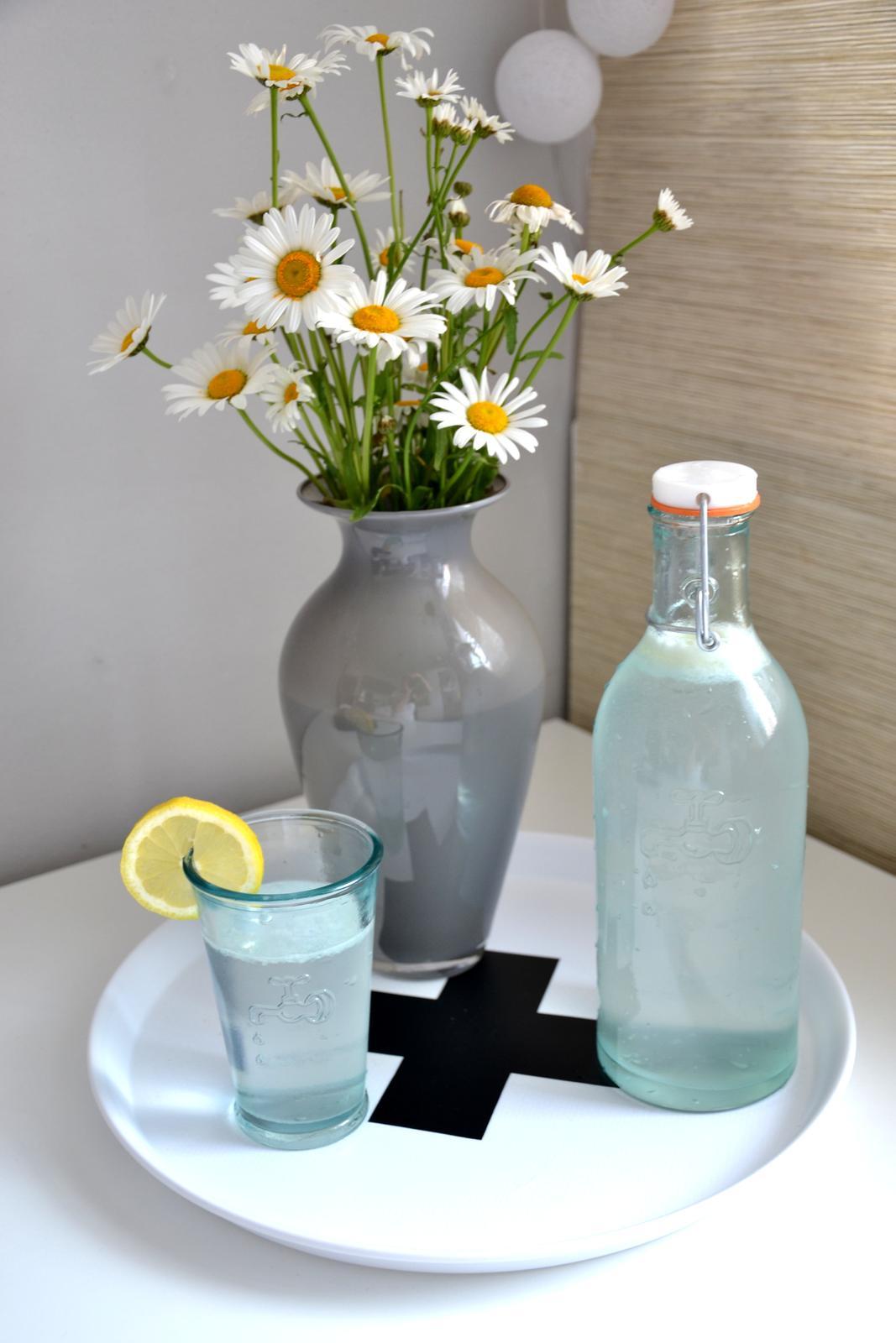 U nás doma - piju vodu s citrónem