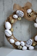 vajíčka jsou papírová z obi, křepelčí z Kauflandu :-)