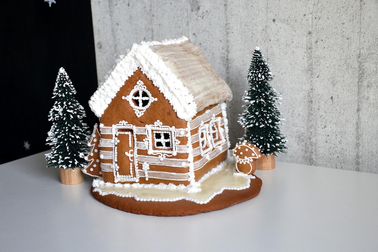 U nás doma v paneláku II. - více na blogu     http://venoskamade.blogspot.cz/  ještě musím dodělat střechu udělala jsem si málo sněhu :-)