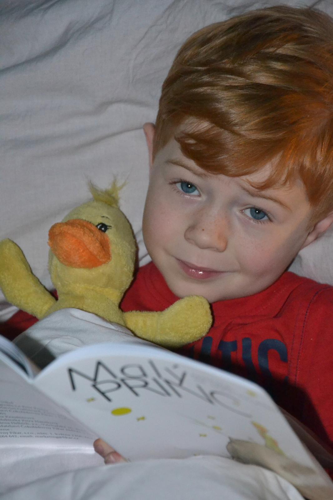 U nás doma v paneláku II. - a můj malý princ....tak moc se na Vánoce s ním těšíme...