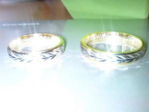 21. 7. 2008 prstýnky konečně doma...