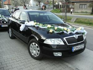 naše svadobné autička