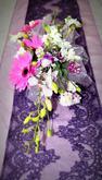 Nová kolekce  -  fialová štola k zapůjčení va Vaši svatbu