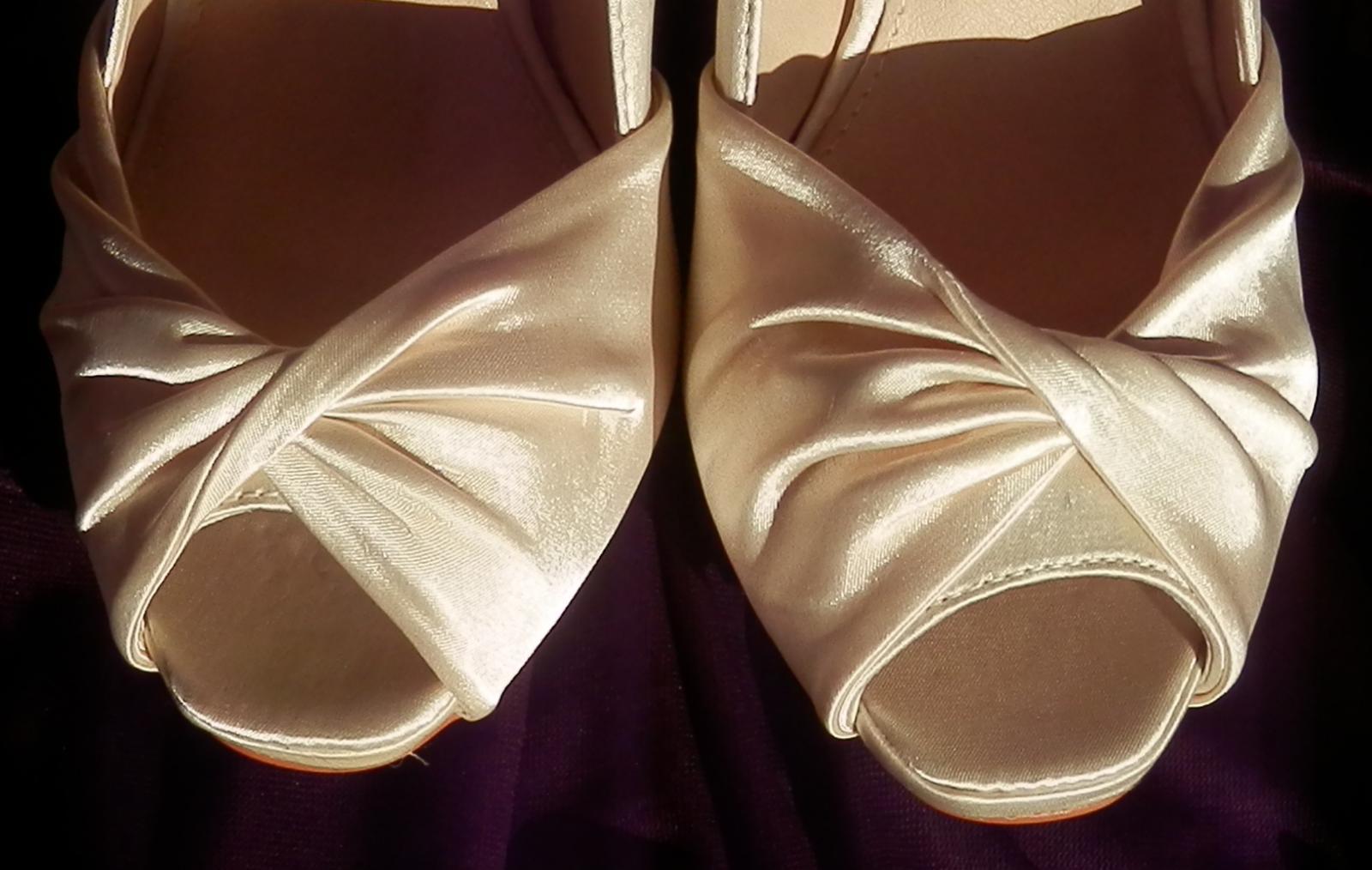 Svatební střevíčky Nicol  - vel. 40 - Obrázek č. 1
