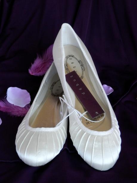 Svatební balerínky - ivory - Obrázek č. 1