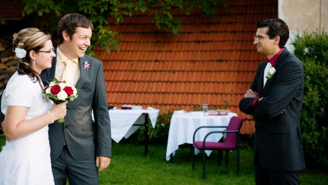 Lucie J.{{_AND_}}Martin D. - Svědek si dovolil uzmout si nevěstu pro sebe! :))
