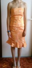 ušité šaty pro družičku