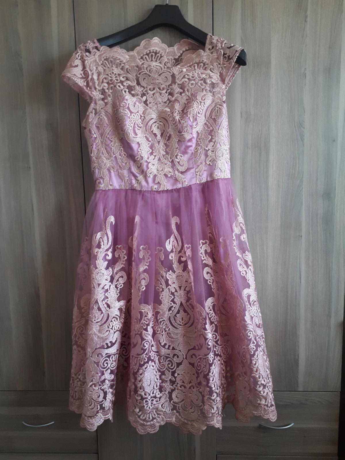 Spoločenské šaty Chi Chi London Rose - Obrázok č. 4