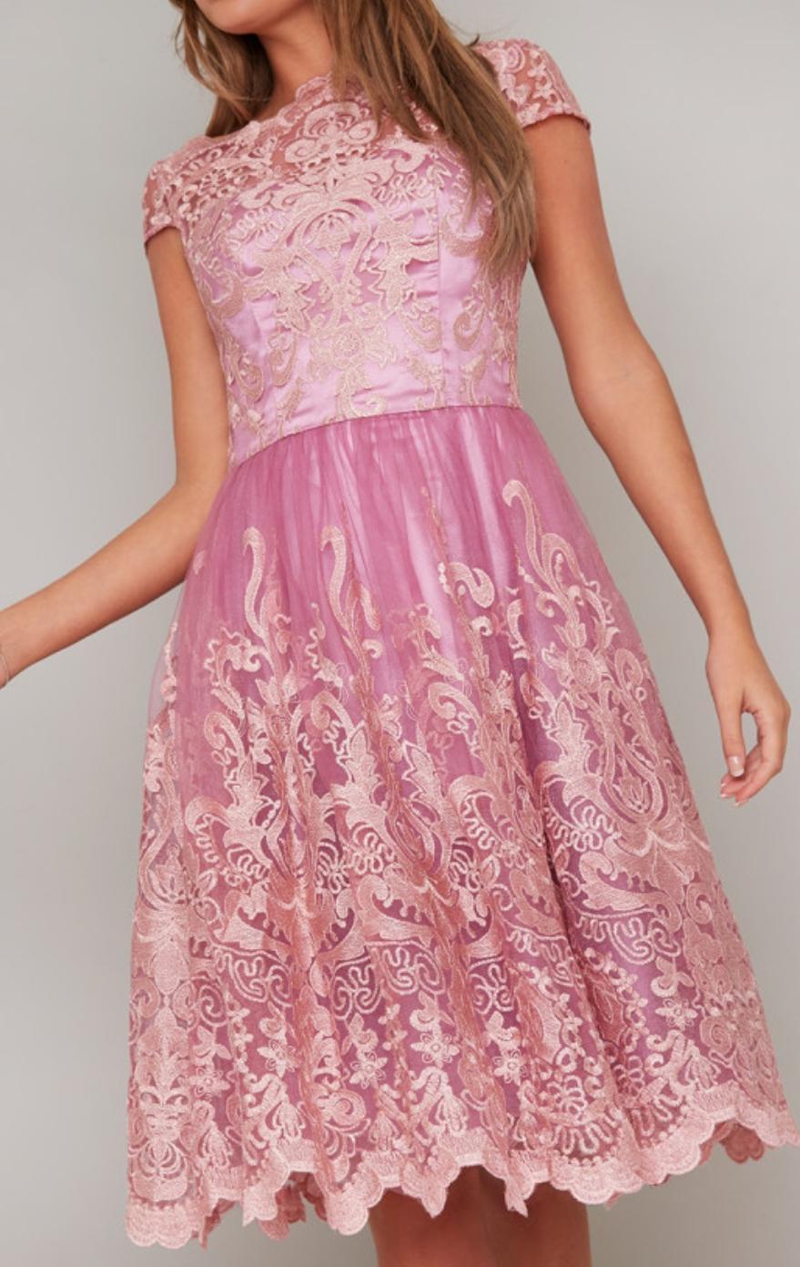 Spoločenské šaty Chi Chi London Rose - Obrázok č. 1