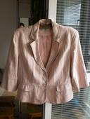 Lněný kabátek-sako Esprit, 48