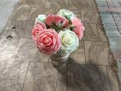 umelé ruže ,