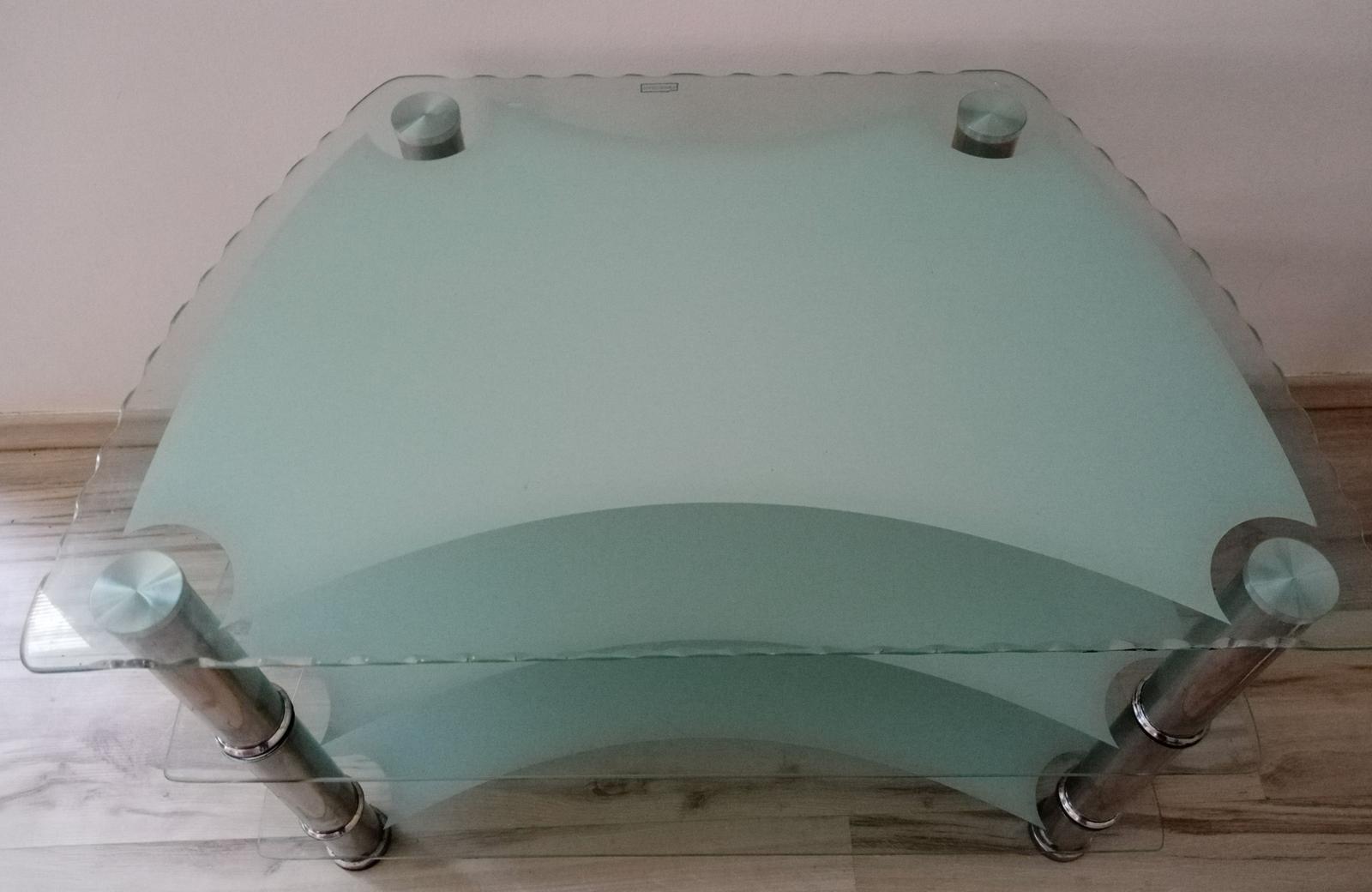 Sklenený stolík - Obrázok č. 2