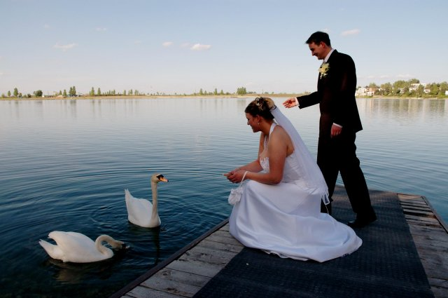 Radka{{_AND_}}Tomáš - Pri jazere