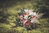 Rustikální kytice pro nevěstu - foto Lucie Křížková