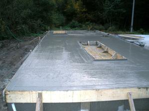 7-2 časť dosky - nad pivnicou  10.10.2009
