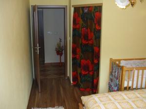 spálňa - šatník