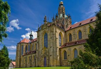 místo obřadu - klášter Kladruby