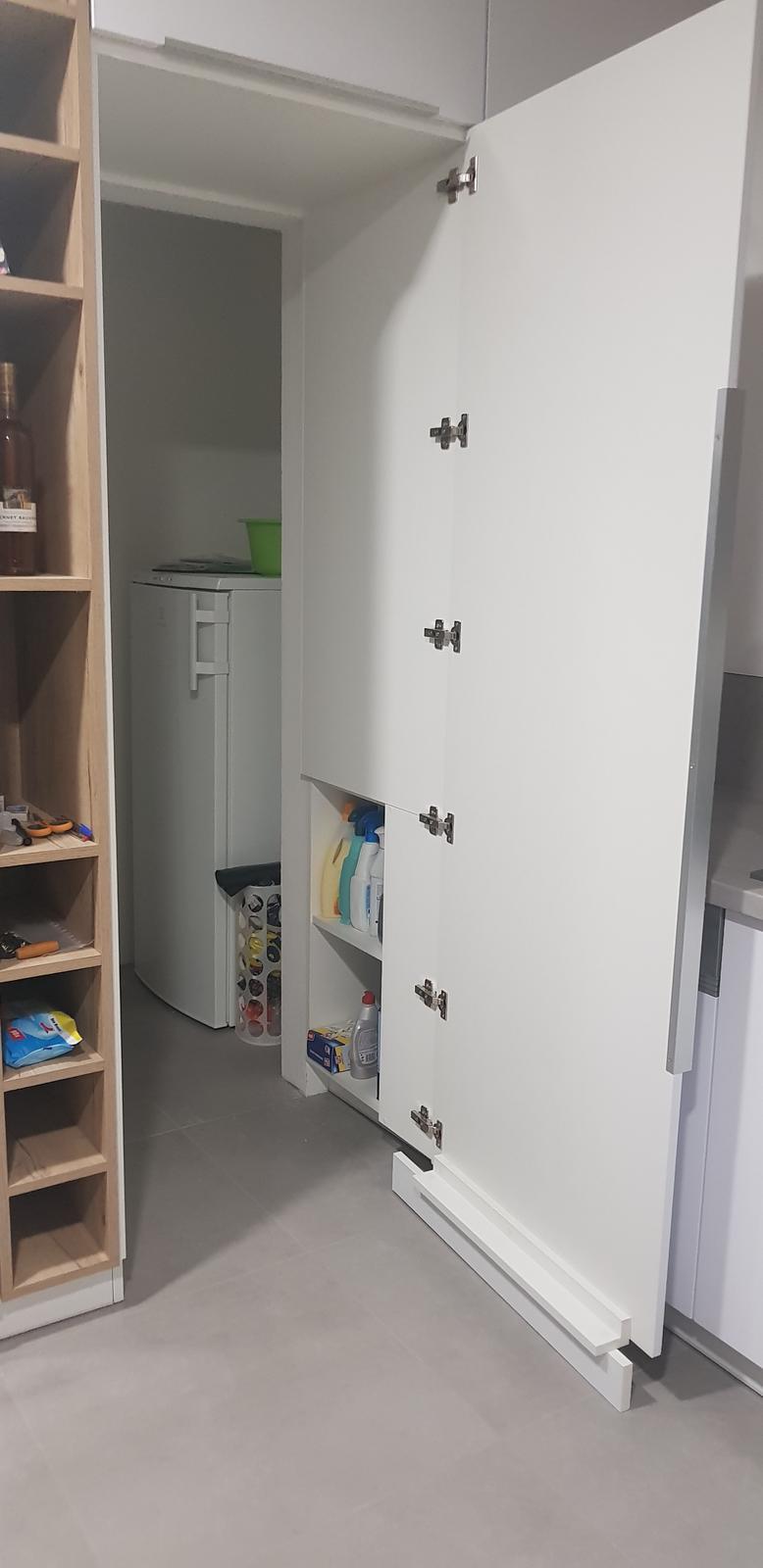 """Ten Náš ♧ projekt """"TOP""""♧ - Slepy vchod do komory cez kuchynu"""