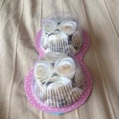 Košíčky na muffiny nebo cupcakes s růžemi,