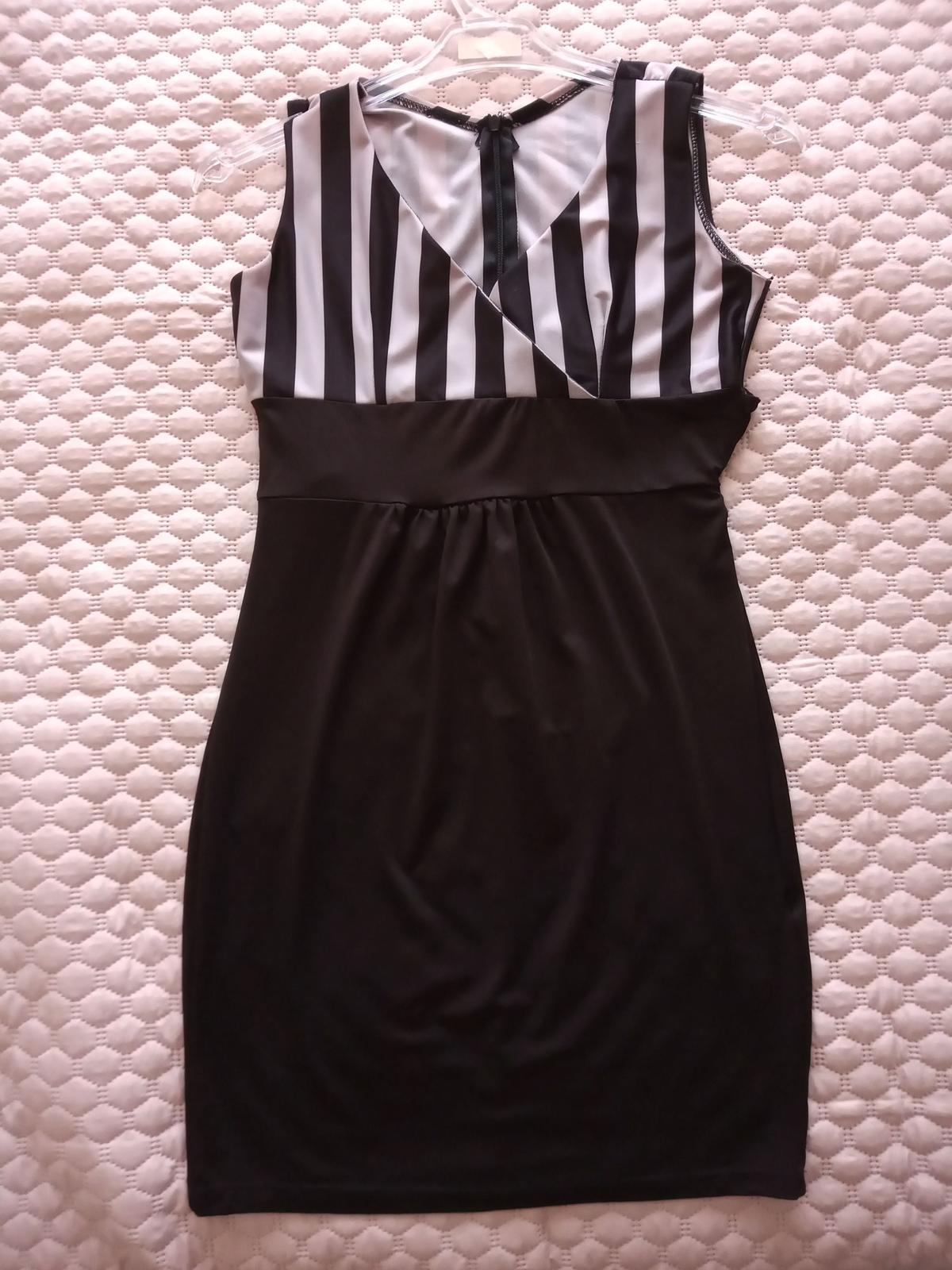 Čierne šaty veľkosť XS / S - Obrázok č. 1