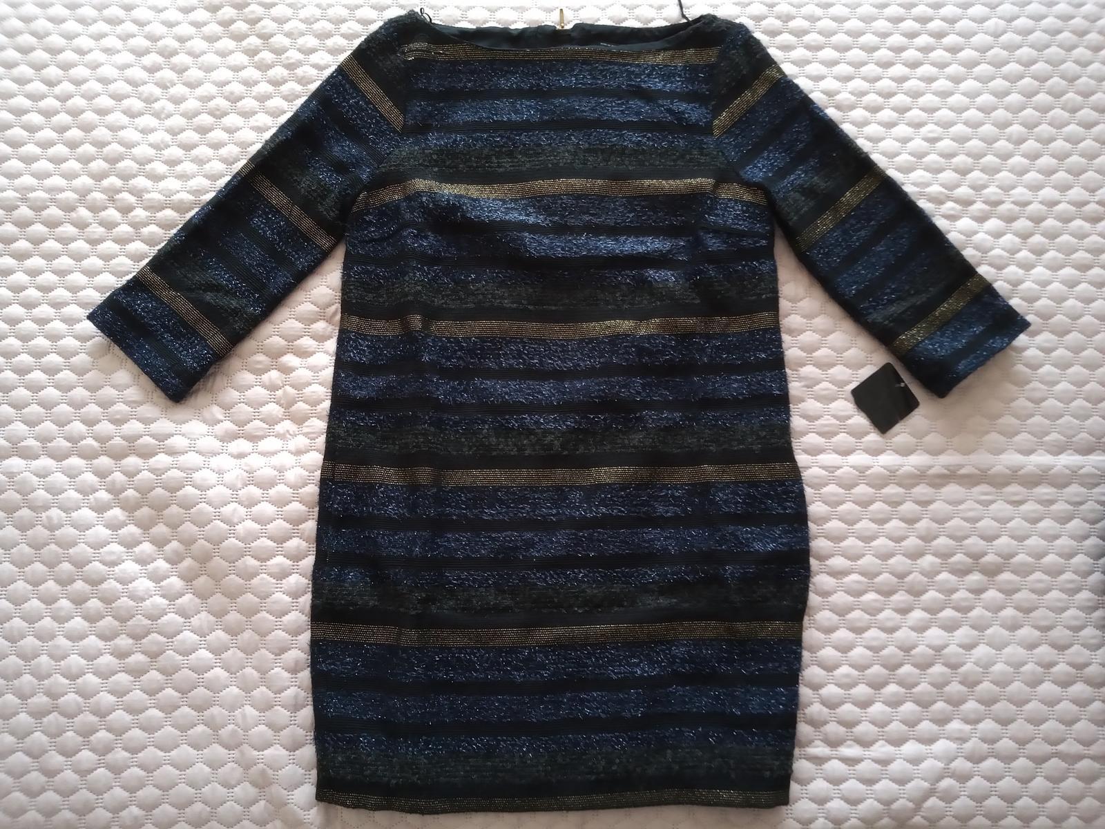 Jesenné alebo zimné šaty ZARA veľ. M nové - Obrázok č. 1