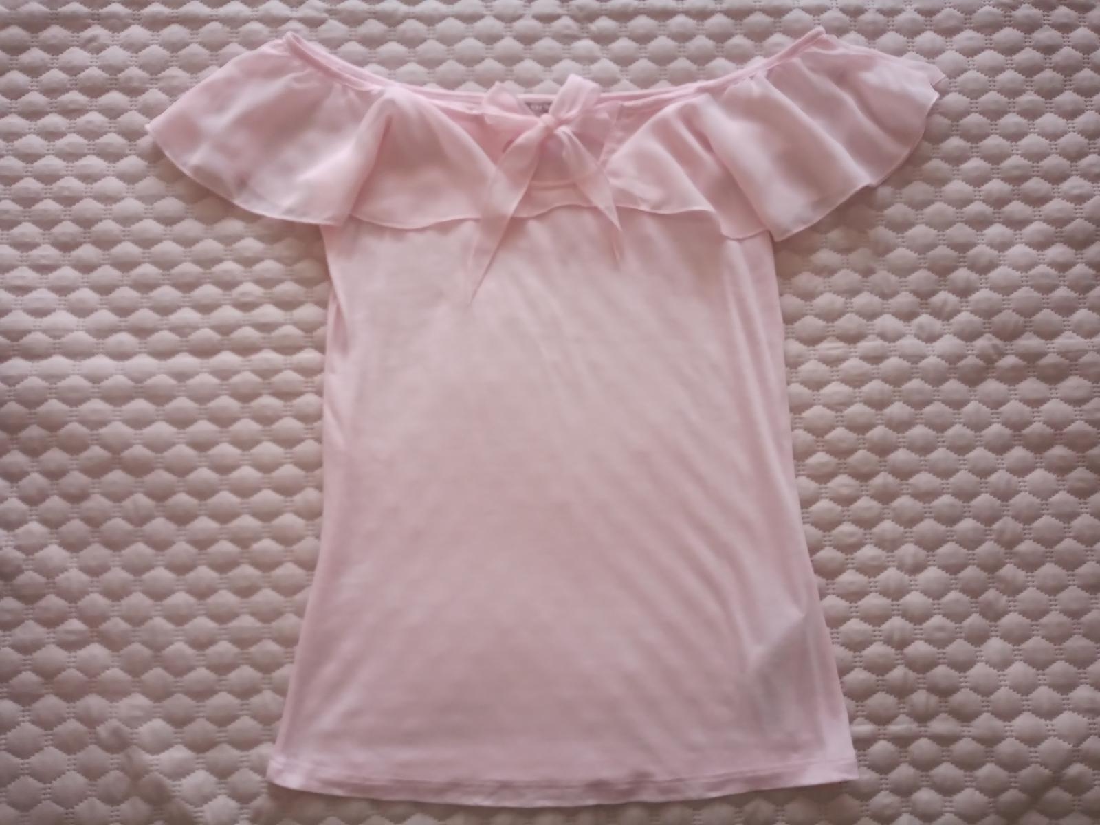 Ružová blúzka / tričko Orsay veľ. S nové - Obrázok č. 1