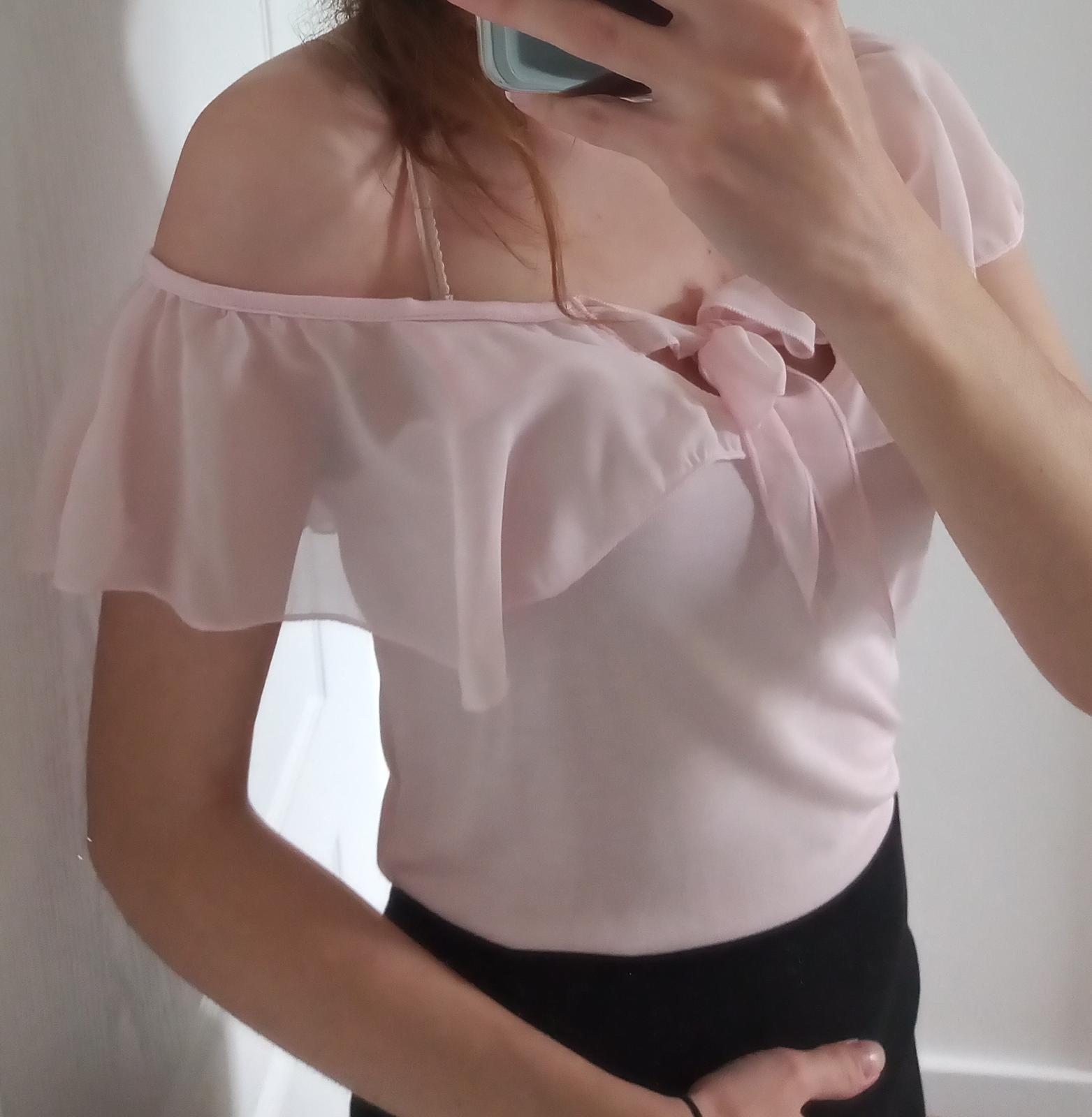 Ružová blúzka / tričko Orsay veľ. S nové - Obrázok č. 2