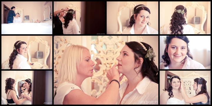 Kristýna{{_AND_}}Milan - příprava nevěsta