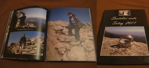 fotokniha ze svatební cesty, přes kuponek, to jsem vychitla adobře :-), mohu jen doporučit, rádi si ji prohlížíme, už se těšíme na svatební, ta zatím nedorazila