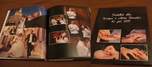 svatební fotokniha... konečně došla :-)