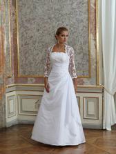 romantica - prý se hodí pro silnější nevěsty
