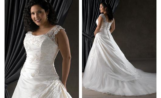 Plus size bride :o) - Obrázek č. 4