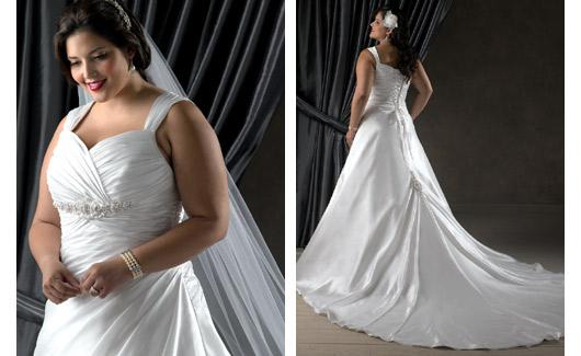 Plus size bride :o) - nádhera :-)
