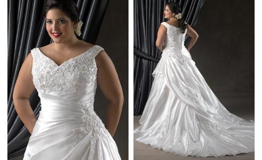 Plus size bride :o) - Obrázek č. 6