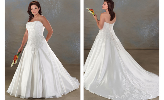 Plus size bride :o) - Obrázek č. 7