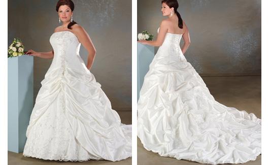 Plus size bride :o) - Obrázek č. 8
