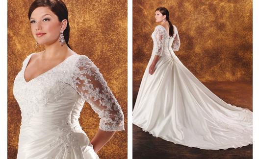 Plus size bride :o) - Obrázek č. 9