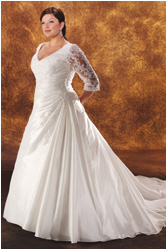 Plus size bride :o) - Obrázek č. 10