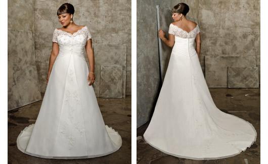 Plus size bride :o) - něžnééé