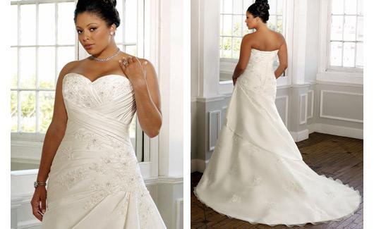 Plus size bride :o) - Obrázek č. 13