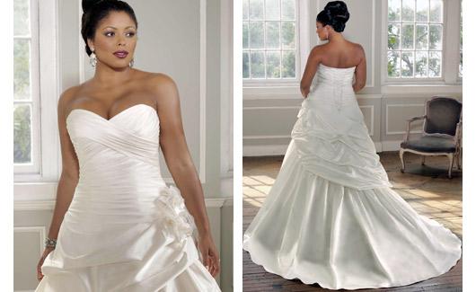 Plus size bride :o) - Obrázek č. 14