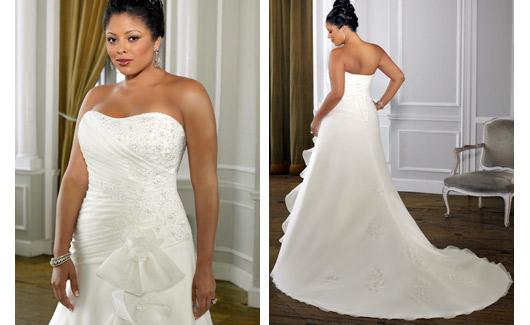 Plus size bride :o) - Obrázek č. 15