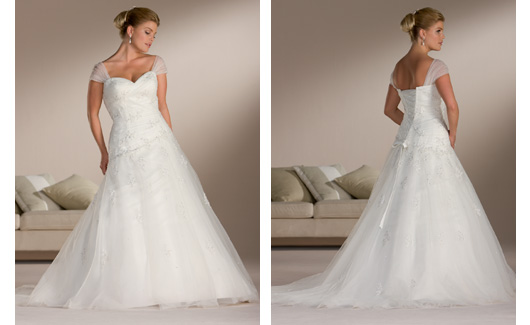 Plus size bride :o) - Obrázek č. 18