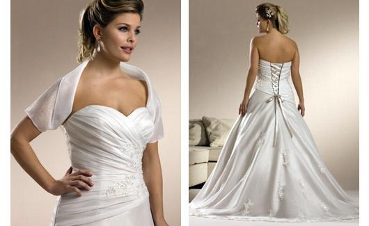 Plus size bride :o) - Obrázek č. 19