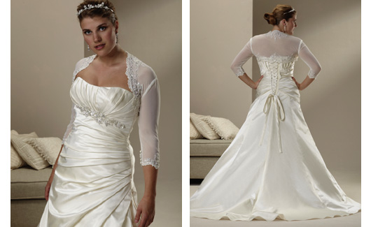 Plus size bride :o) - Obrázek č. 20